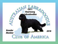 Logo for Australian Labradoodle Club of America